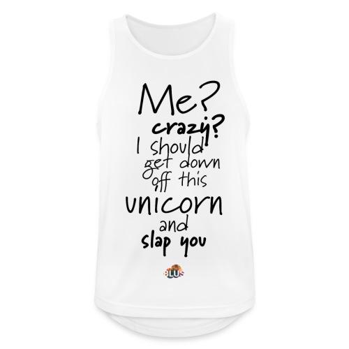 Crazy Unicorn Style (Dark) - Men's Breathable Tank Top