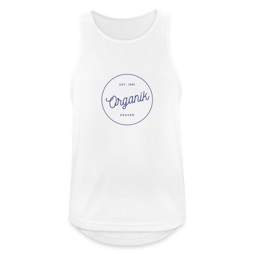 Organic - Canotta da uomo traspirante