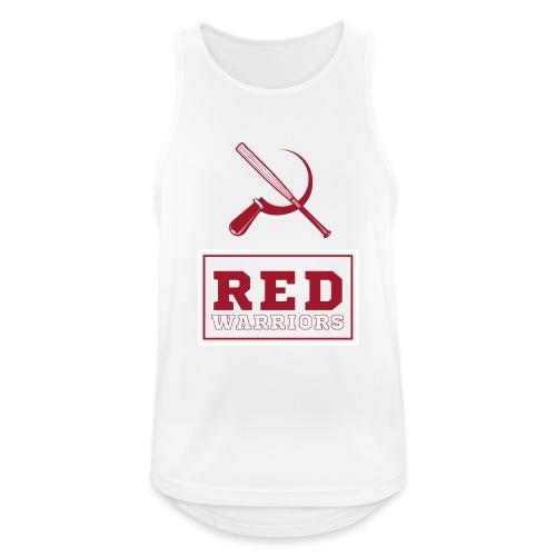 Red Warriors Logo2 - Débardeur respirant Homme