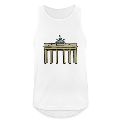 Berlin Brandenburger Tor - Männer Tank Top atmungsaktiv