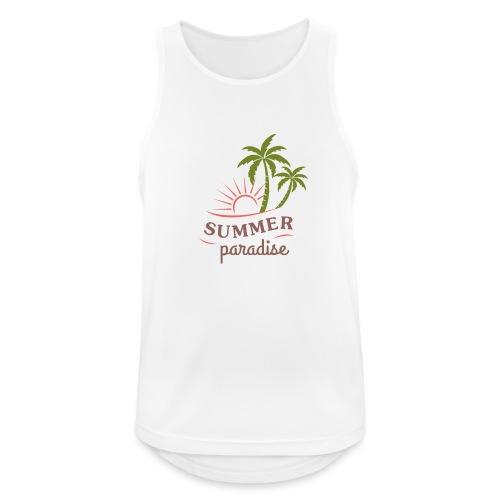 Summer paradise - Men's Breathable Tank Top