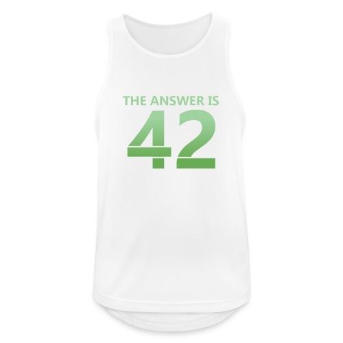42 - Men's Breathable Tank Top