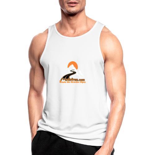 logo motofree orange - Débardeur respirant Homme