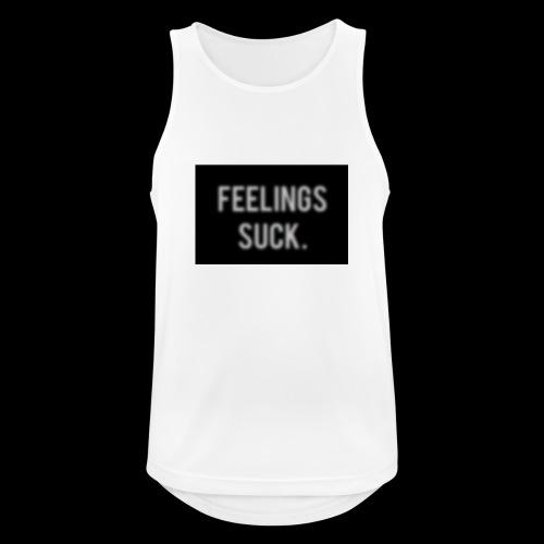 Feelings Suck - Männer Tank Top atmungsaktiv