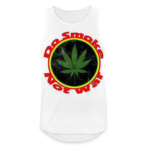 Do Smoke Not War - Männer Tank Top atmungsaktiv