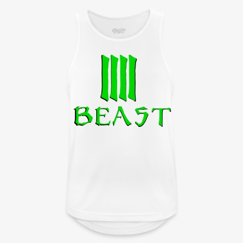 Beast Green - Men's Breathable Tank Top