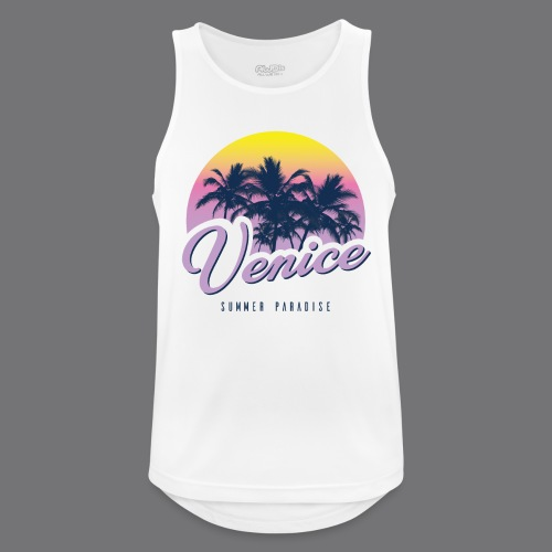 VENICE Tee Shirt - Men's Breathable Tank Top