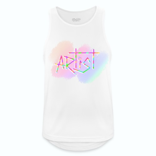 Artist in Colors - Camiseta sin mangas hombre transpirable