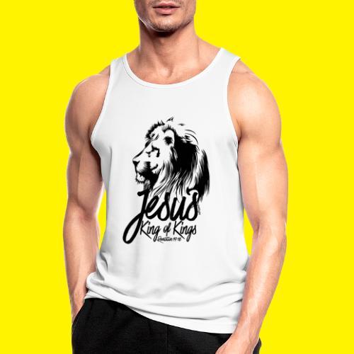 JESUS - KING OF KINGS - Revelations 19:16 - LION - Men's Breathable Tank Top