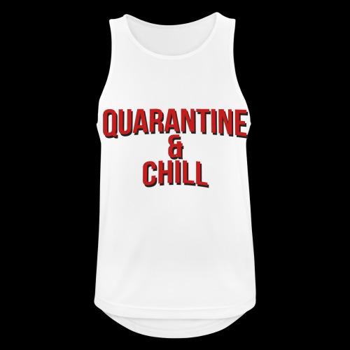 Quarantine & Chill Corona Virus COVID-19 - Männer Tank Top atmungsaktiv