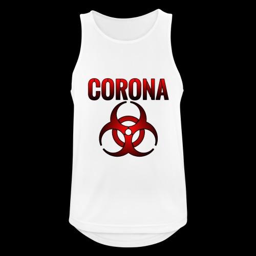 Corona Virus CORONA Pandemie - Männer Tank Top atmungsaktiv