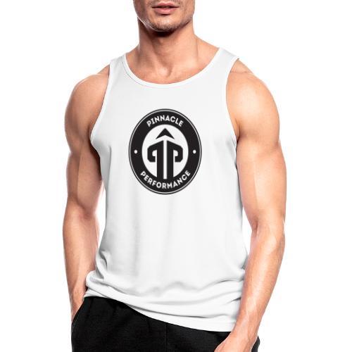 Pinnacle Performance Apparel (Black Logo) - Men's Breathable Tank Top