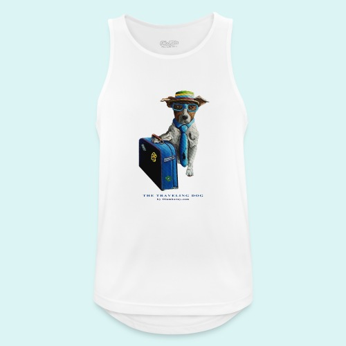 The Traveling Dog - Men's Breathable Tank Top