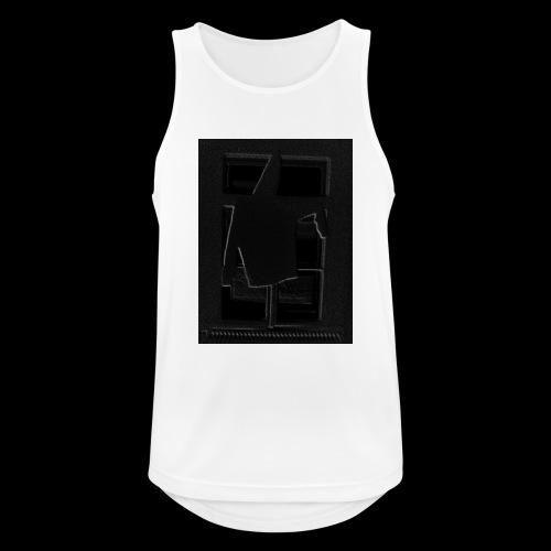 Dark Negative - Men's Breathable Tank Top