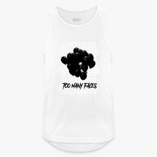 Too many faces (NF) - Men's Breathable Tank Top