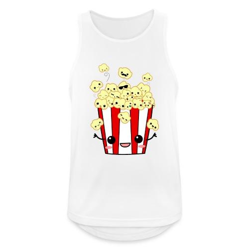 PopCorn - Camiseta sin mangas hombre transpirable