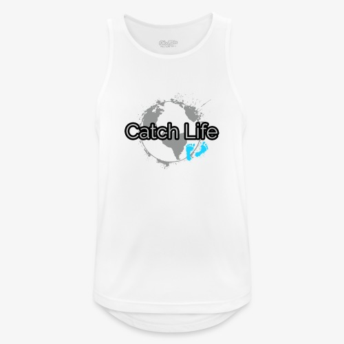 Catch Life Black - Men's Breathable Tank Top