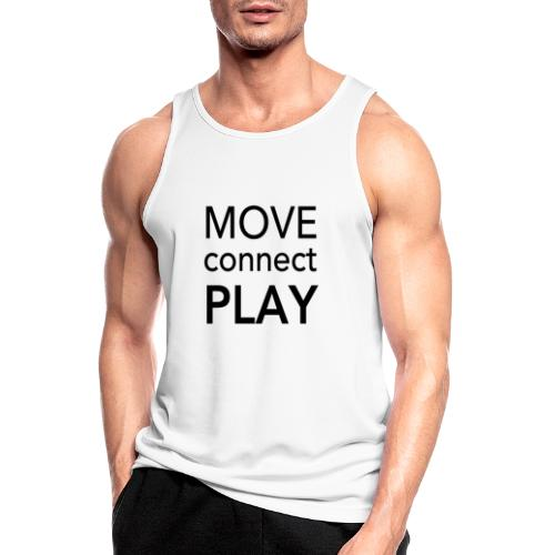 Move Connect Play - AcroYoga International - Men's Breathable Tank Top