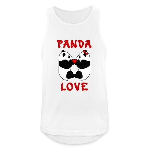 Panda Love - Men's Breathable Tank Top