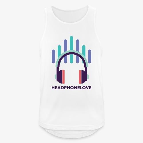 headphonelove - Männer Tank Top atmungsaktiv
