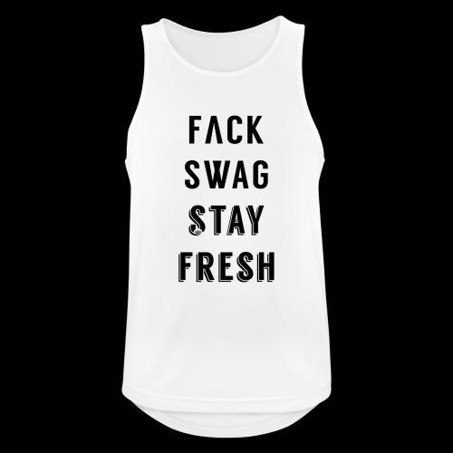 Fack Swag Tee - Camiseta sin mangas hombre transpirable