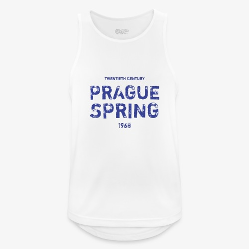 Prague Spring - Canotta da uomo traspirante