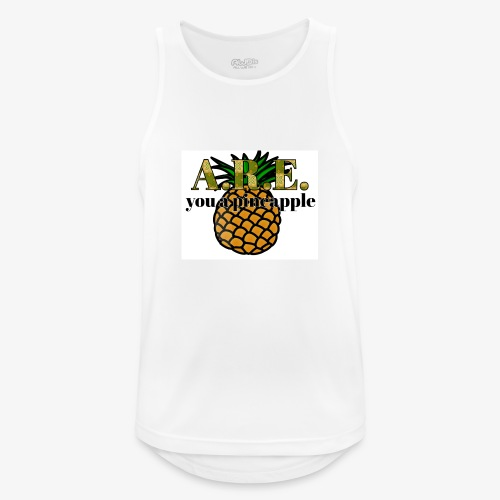 Are you a pineapple - Men's Breathable Tank Top