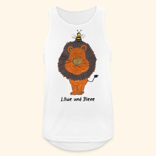 Löwe und Biene - Männer Tank Top atmungsaktiv