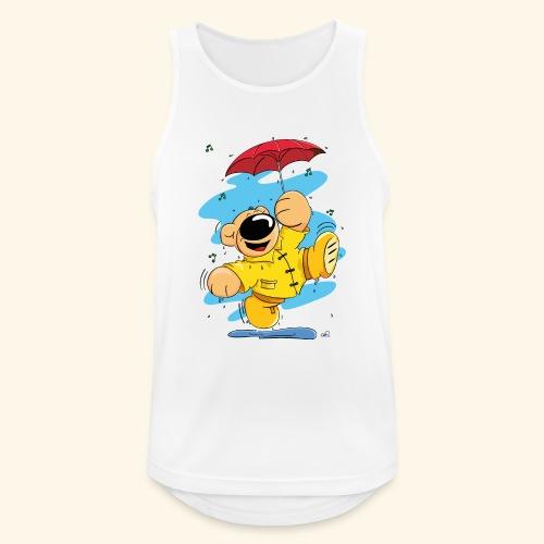 Der Bär tanzt im Regen - Männer Tank Top atmungsaktiv