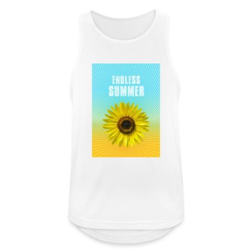 sunflower endless summer Sonnenblume Sommer - Men's Breathable Tank Top