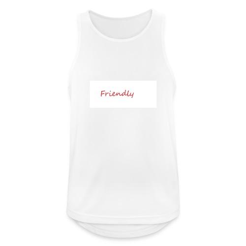 Friendly - Männer Tank Top atmungsaktiv