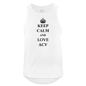 Keep Calm and Love ACV - Männer Tank Top atmungsaktiv