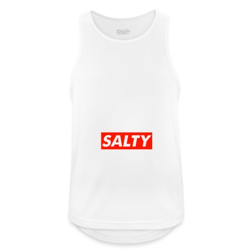 Salty white - Men's Breathable Tank Top