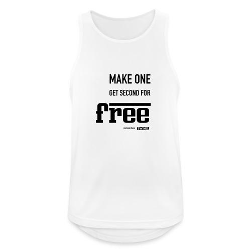 TWINS. make one get second for free - Männer Tank Top atmungsaktiv