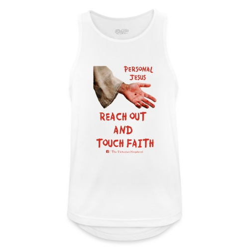 Reach Out And Touch Faith - Men's Breathable Tank Top
