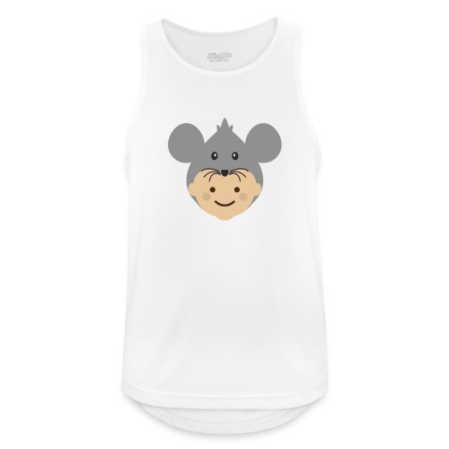 Mr Mousey | Ibbleobble - Men's Breathable Tank Top