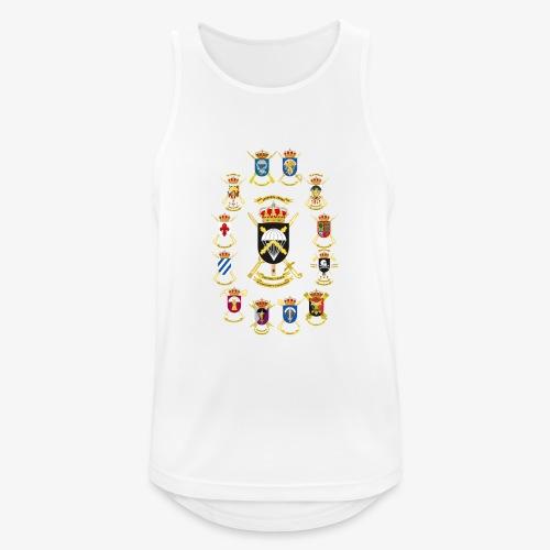 UNIDADES BRIPAC - Camiseta sin mangas hombre transpirable
