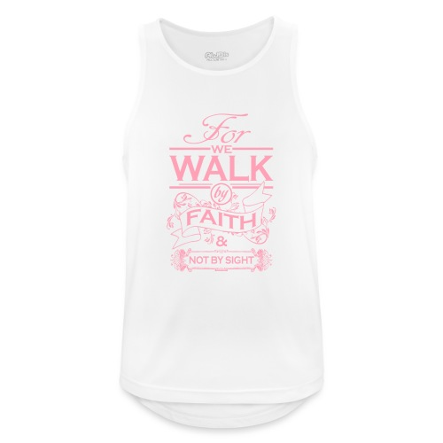 walk pink - Men's Breathable Tank Top