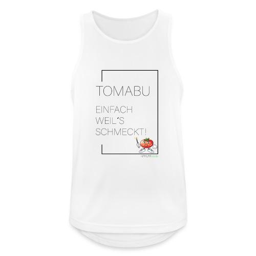 TomaBu Einfach weil´s schmeckt! - Männer Tank Top atmungsaktiv