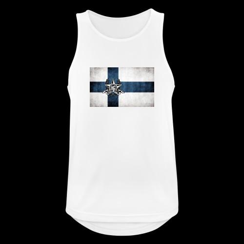Suomen lippu - Miesten tekninen tankkitoppi