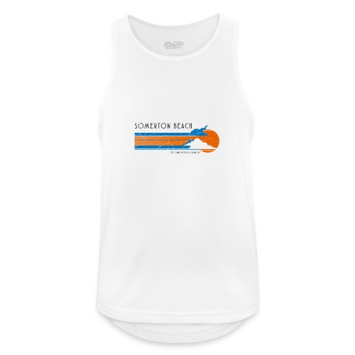 Somerton Beach: Tamam Shud Mystery - Men's Breathable Tank Top