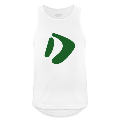 Logo D Green DomesSport - Männer Tank Top atmungsaktiv