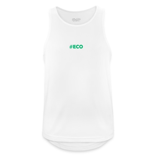 #ECO Blue-Green - Männer Tank Top atmungsaktiv