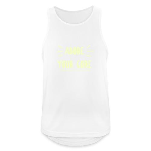 Adore Your Core - Men's Breathable Tank Top