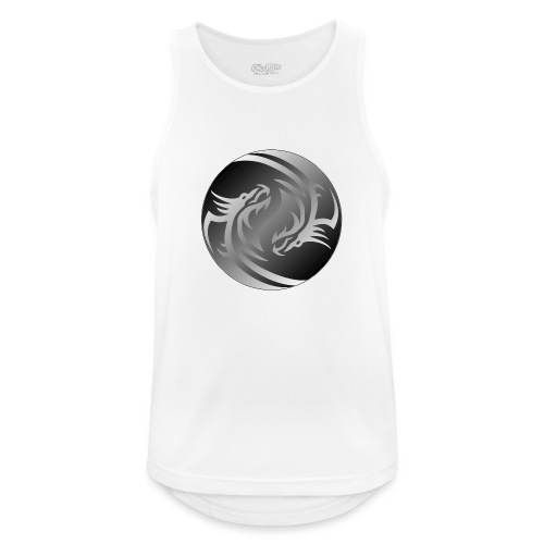 Yin Yang Dragon - Men's Breathable Tank Top