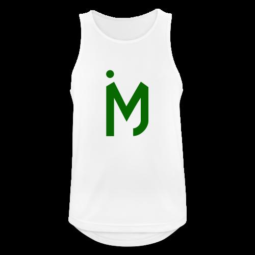 M Groen - Mannen tanktop ademend