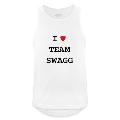 I LOVE TEAMSWAGG - Débardeur respirant Homme