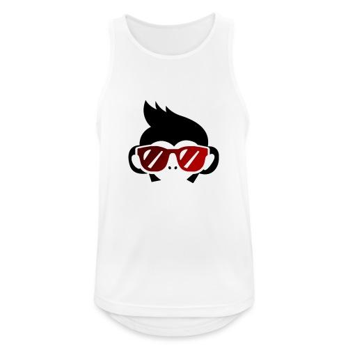 Geek Monkey 2 - Camiseta sin mangas hombre transpirable