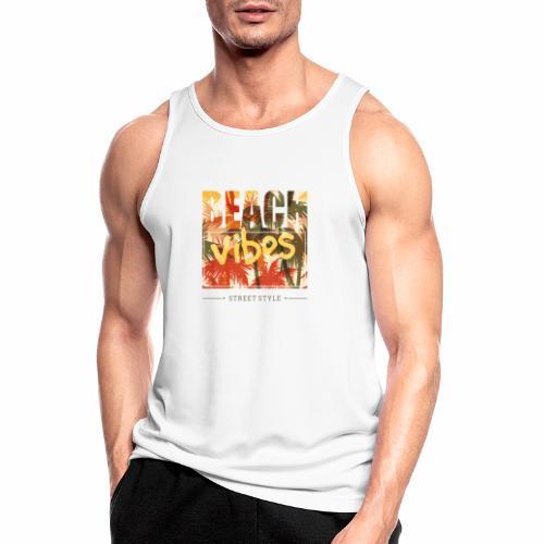 beach vibes street style - Männer Tank Top atmungsaktiv