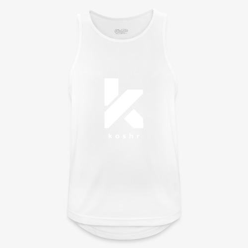 Koshr Official Logo - - Men's Breathable Tank Top